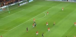 A still from an encounter between Galatasaray and Fenerbahçe