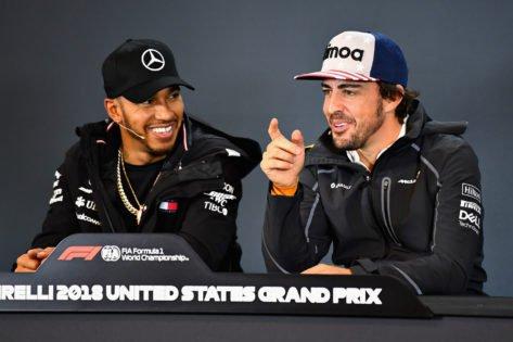 """""""Best Driver I Have Driven Against"""" – Hamilton Explains Huge Alonso 'Shame'"""