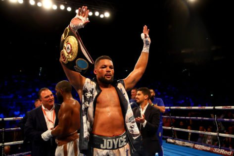 Joe Joyce Vows to Stop Carlos Takam Within Six Rounds on July 24