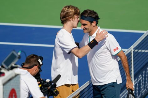 """""""Unreal"""": Andrey Rublev Hails Roger Federer for His Incredible Comeback at the 2021 Wimbledon Championship"""