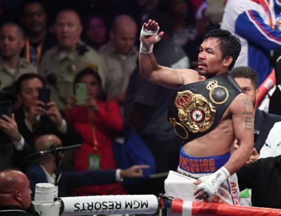 Manny Pacquiao Sends a Message to Errol Spence Jr.
