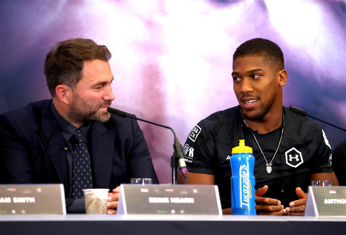 Anthony Joshua vs Tyson Fury Contract Sent Back With Minor Corrections, Confirms Eddie Hearn – EssentiallySports