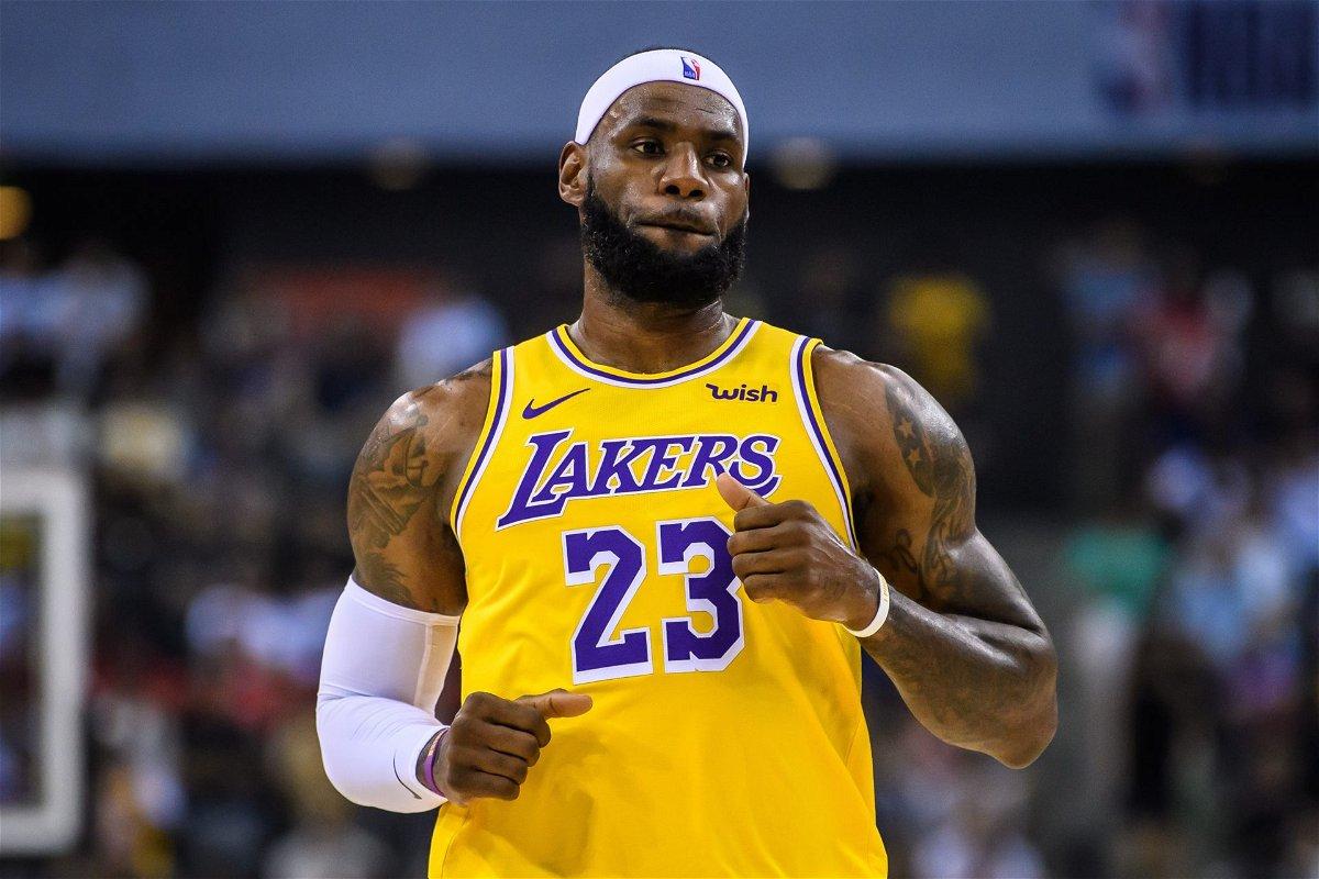 Los Angeles Lakers' LeBron James