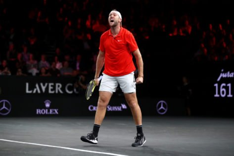 Jack Sock Reacts After Getting Snubbed From Team World at Laver Cup 2021