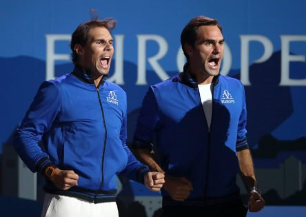 Rafael Nadal Sends Wishes to His Team at Roger Federer's Event Laver Cup 2021