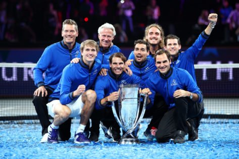 """""""Hope to Be Back Next Year"""": Dominic Thiem Reminisces Beautiful Moments With Roger Federer and Rafael Nadal at Laver Cup"""