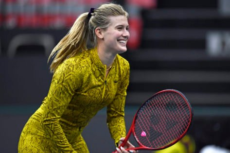 """""""Don't Know How That Stuck in There"""": Eugenie Bouchard Debunks Herself While Promoting Her Home Country Canada"""