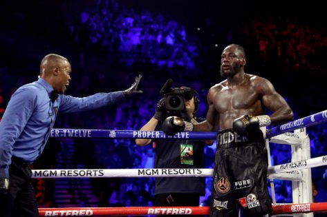 """Deontay Wilder Trained """"Half-A**"""" for Tyson Fury Rematch, Claims Chris Arreola"""