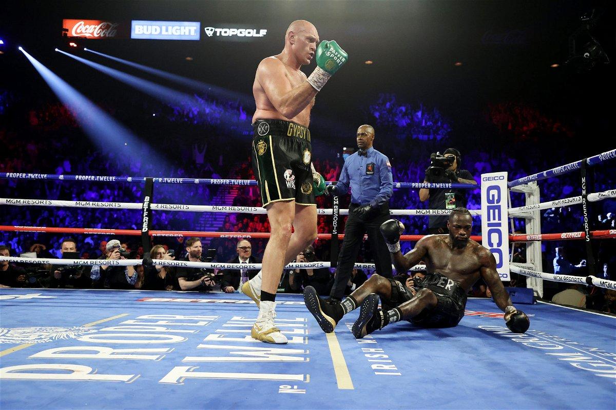 Tyson Fury Wilder