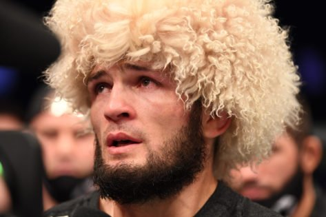 'Bite Him Back'- Khabib Nurmagomedov Reveals Crazy Advise From His Father After the Bear Tried to Bite Him During Wrestling
