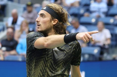 Stefanos Tsitsipas Accused of Receiving Illegal Coaching by Fabio Fognini at Indian Wells