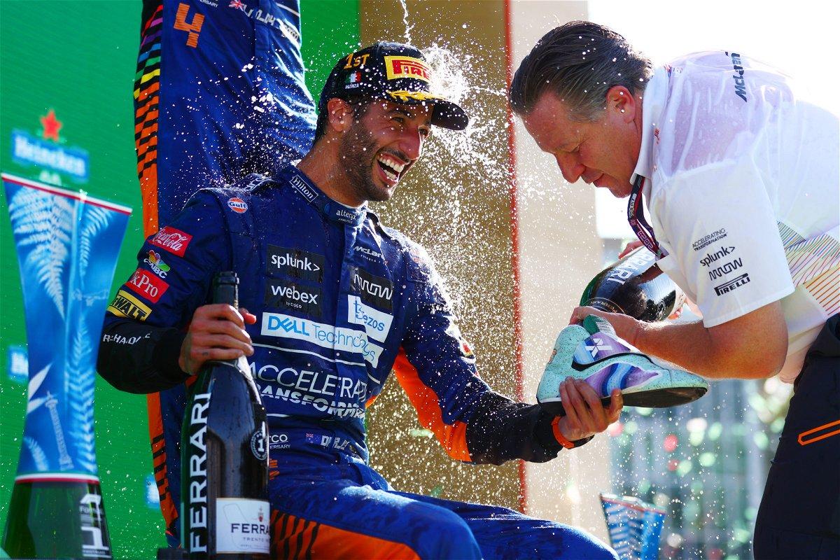 Daniel Ricciardo Drops in a Huge Drive to Survive Update After His Monza F1 Victory - EssentiallySports