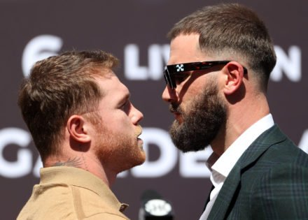 New Video Reveals Full Uncensored Conversation Between Canelo Alvarez and Caleb Plant Right Before Their Brawl