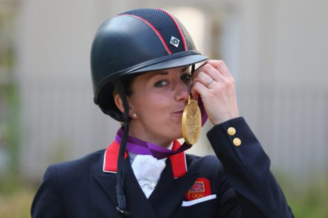 Charlotte Dujardin Bags A Historic 20th Career Medal With Bronze at European Dressage Championships