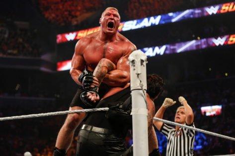 """Lesnar FEARS Lashley"" – MVP Mocks Brock Lesnar at Hell in a Cell Amidst Return Rumors"