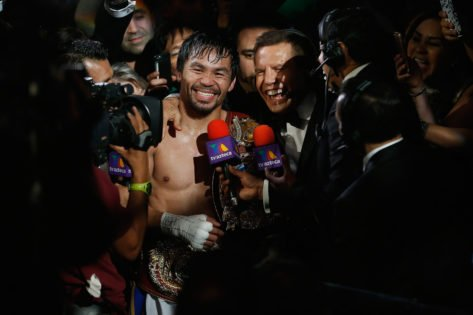 Boxing Legend Manny Pacquiao Officially Announces Bid for Presidency in 2022