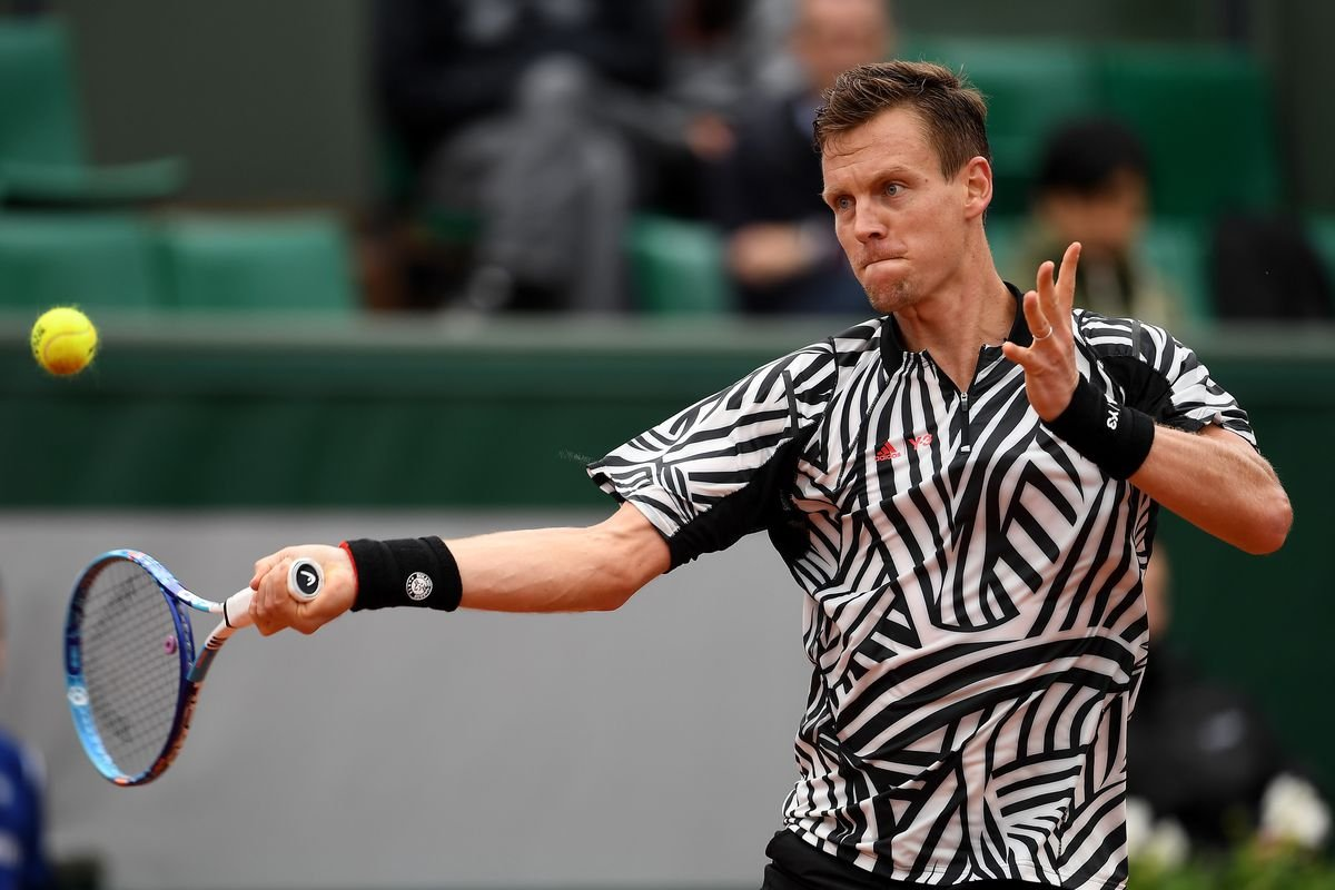 Tomas Berdych French Open 2019