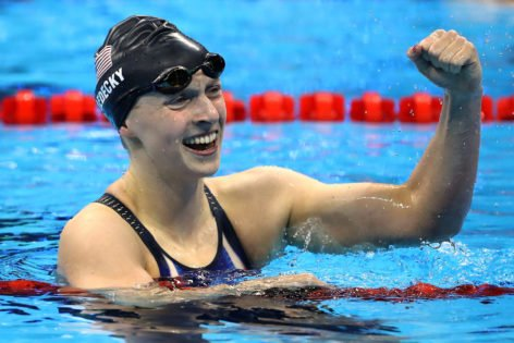 Olympic Swimming Gold Medalist Katie Ledecky Claims Technology 'Helped Her Move Through the Water' in Tokyo