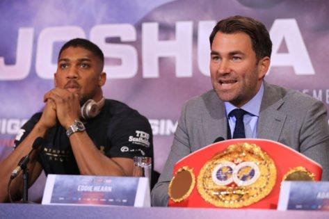 Eddie Hearn Lambasts Oleksandr Usyk for Disrupting the Tyson Fury-Anthony Joshua Fight