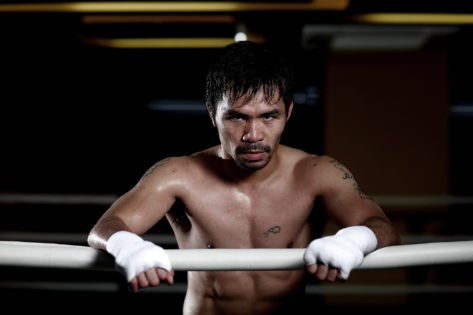 VIDEO: Manny Pacquiao Immerses Himself in Grilling Sprinting Sessions