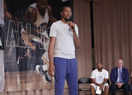 WATCH: Brooklyn Nets Rookies Wish Kevin Durant with a Birthday Song in Practice