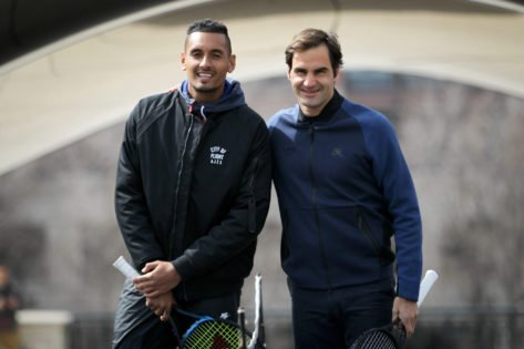 """""""Get Better Goat"""": Nick Kyrgios, Juan Martin del Potro, and Others Send Love to Roger Federer Following His Layover Announcement"""