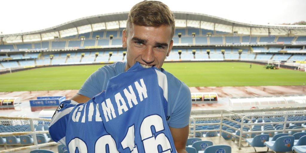 sale retailer 01cb1 d1441 Real Sociedad set to honour Antoine Griezmann to spite ...