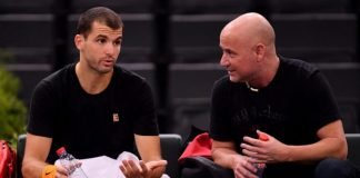 Grigor Dimitrov and Andre Agassi