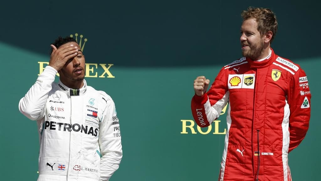 Vettel wants to steal Hamilton's thunder in Germany