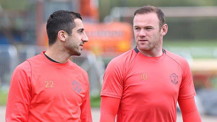 Mkhitaryan Rooney