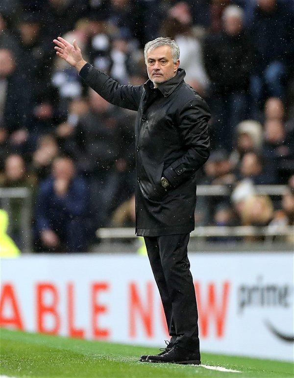 Jose Mourinho back at his antics as Tottenham lose to a ...