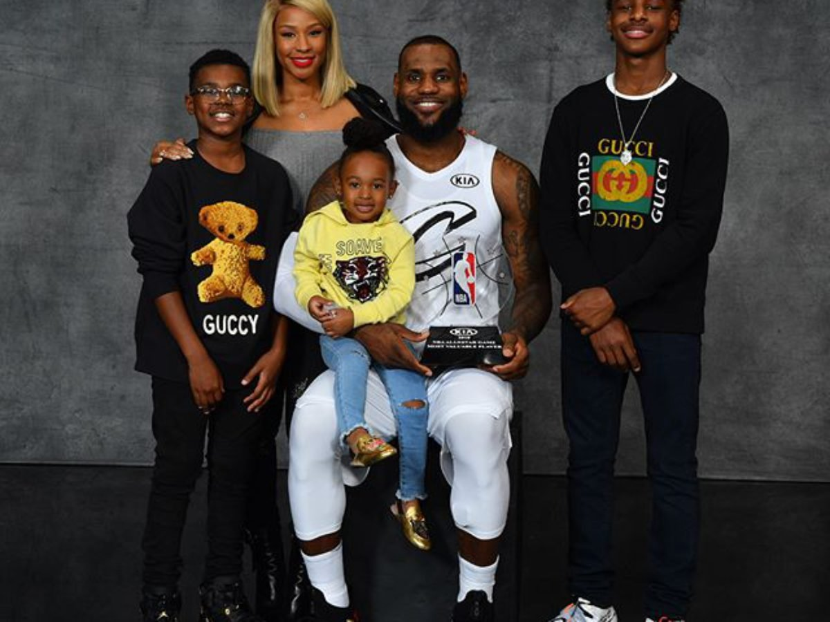 Lebron James All We Know About His Children Lebron Jr Bryce Maximus And Zhuri Essentiallysports
