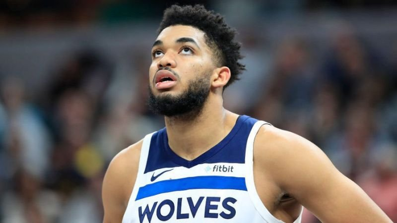 Karl-Anthony Towns of Minnesota Timberwolves