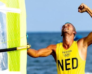 """""""Worked in My Favour"""" – Windsurfer Kiran Badloe Channels His Inner Airbender to Win Tokyo Olympic Gold"""