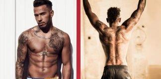 Lewis Hamilton Tattoos