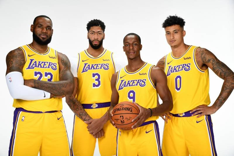 2020 and 2020 lakers roster