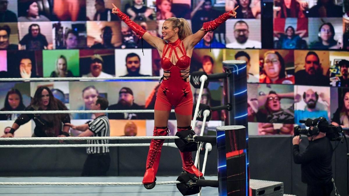 Miro reacts to Lana earning Team RAW spot at Survivor Series