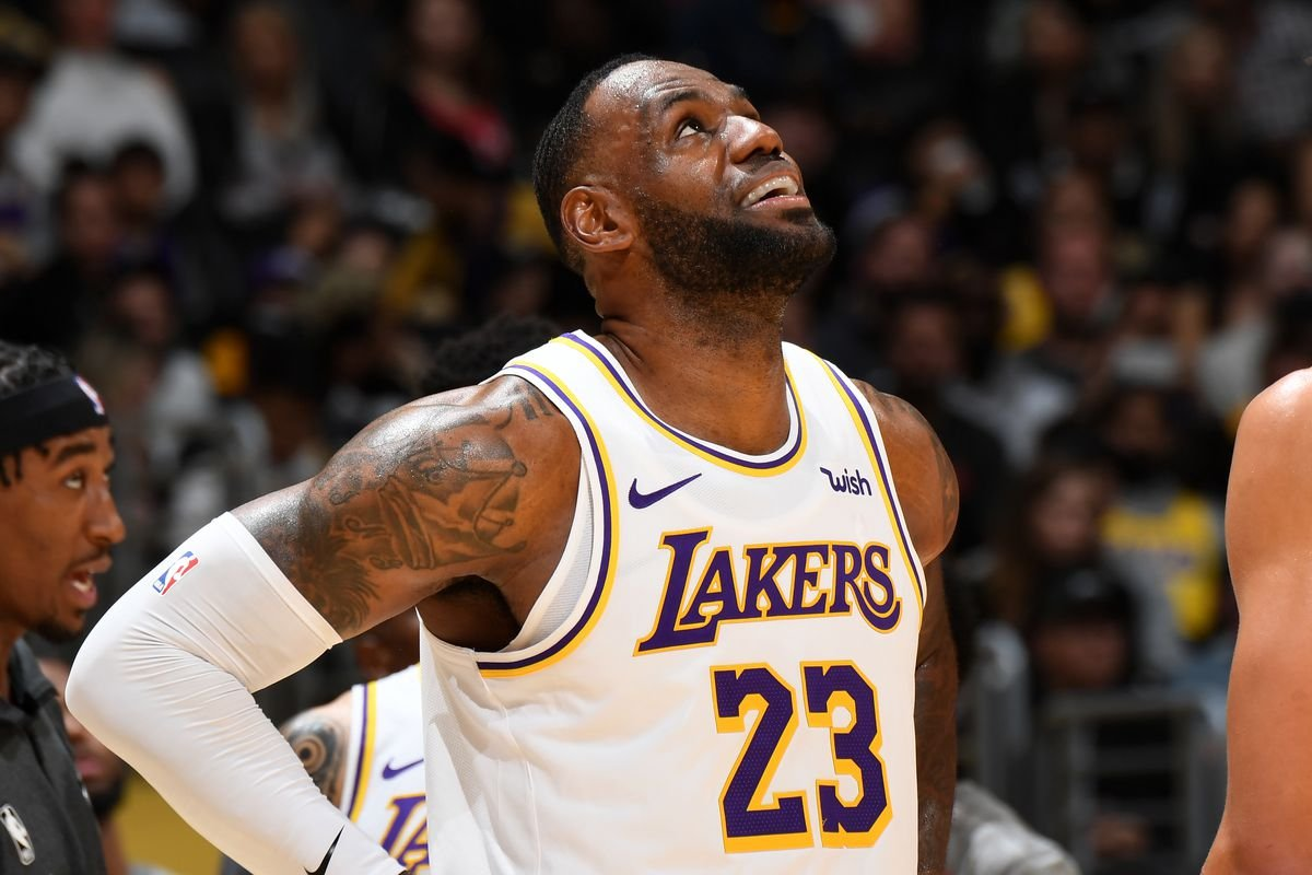LeBron James out vs. the Nuggets; Kyle Kuzma available