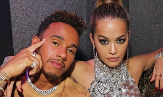 Celebrities Including Rita Ora & Ben Stiller Salute Lewis Hamilton on His Record 100th F1 Win