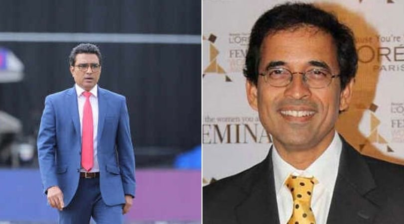 Sanjay Manjrekar and Harsha Bhogle