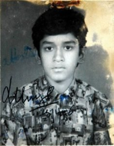 sportspersons childhood photos