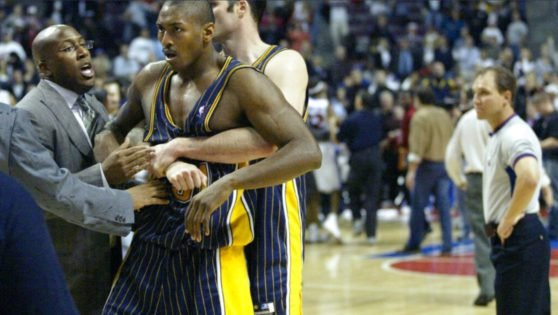 """Jermaine O'Neal Reveals Surprising Reasons Behind Shooting """"Malice At The Palace"""" Documentary"""