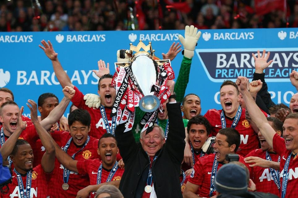 Manchester United Premier League 2012-13 Champions