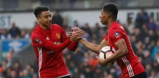 Marcus Rashford and Jesse Lingard