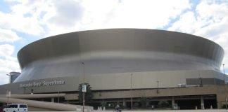New Orleans Saints' Stadium Mercedes-Benz Superdome