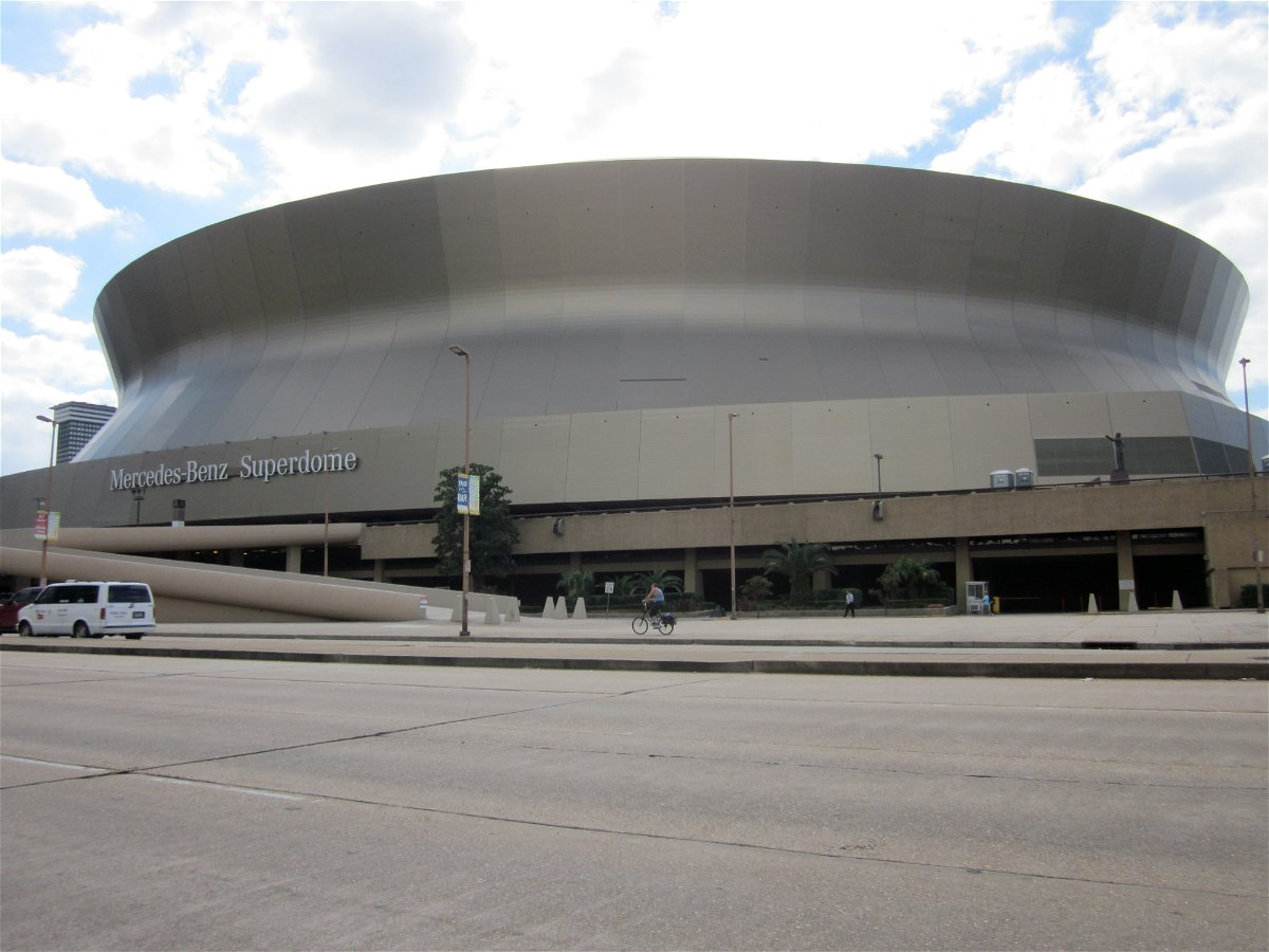 New Orleans Saints' Stadium Mercedes-Benz Superdome
