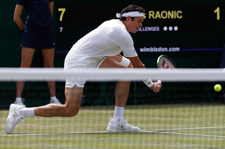 Guido Pella downs Milos Raonic to reach first major quarterfinal