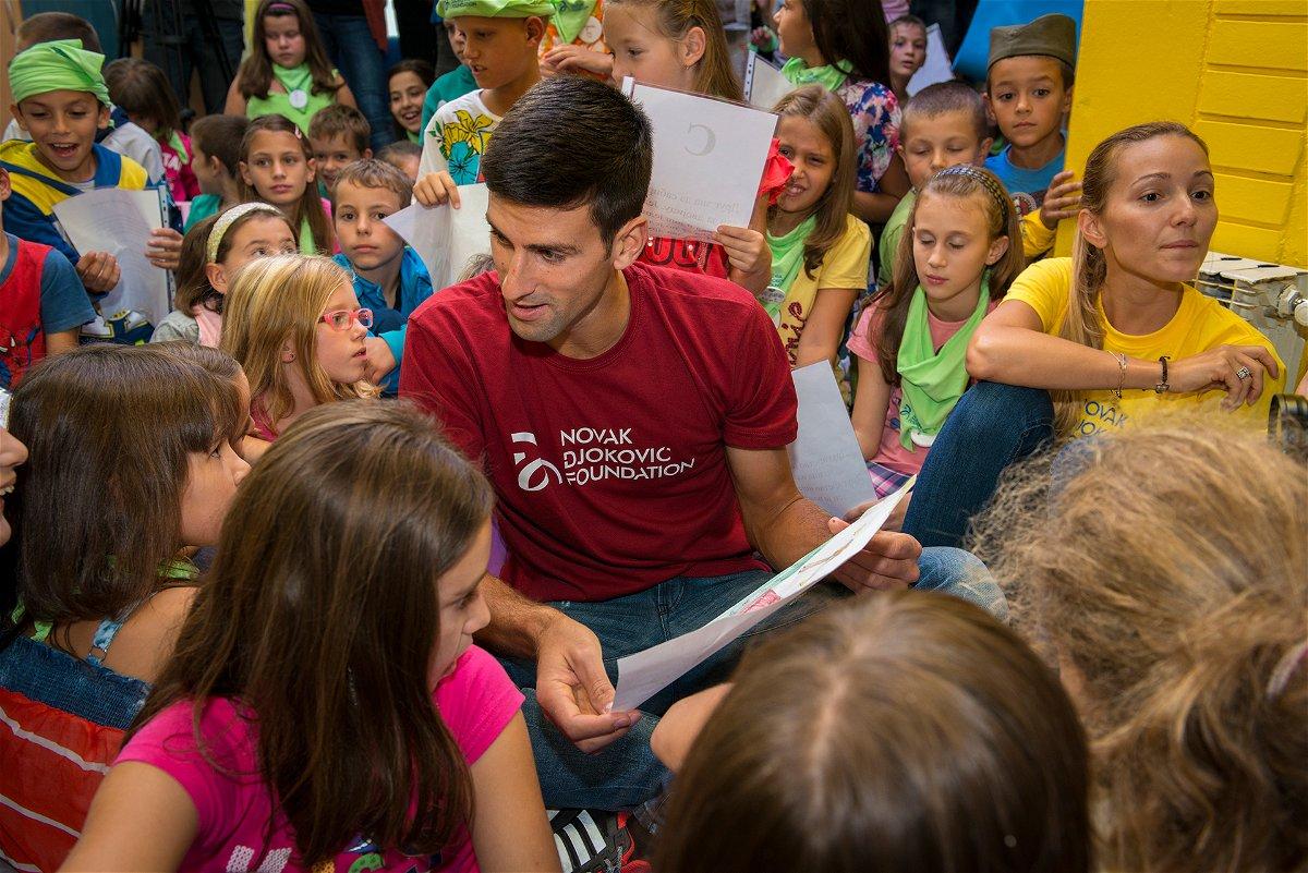 The Heart Touching Story Behind Novak Djokovic Foundation S Anthem Essentiallysports
