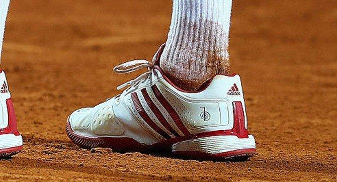 Novak Djokovic shoe