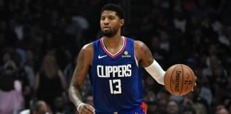 Paul George of Los Angeles Clippers